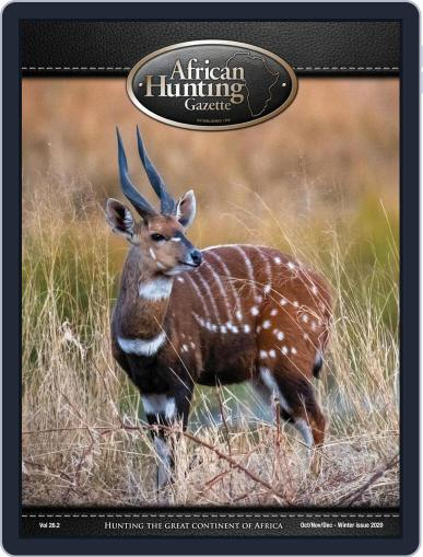 African Hunting Gazette (Digital) October 1st, 2020 Issue Cover