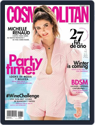 Cosmopolitan México November 1st, 2020 Digital Back Issue Cover