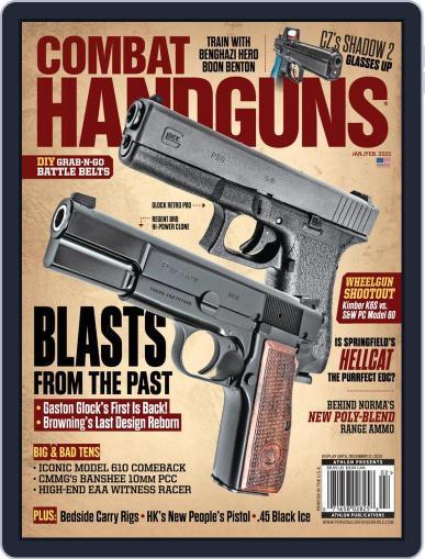 Combat Handguns January 1st, 2021 Digital Back Issue Cover