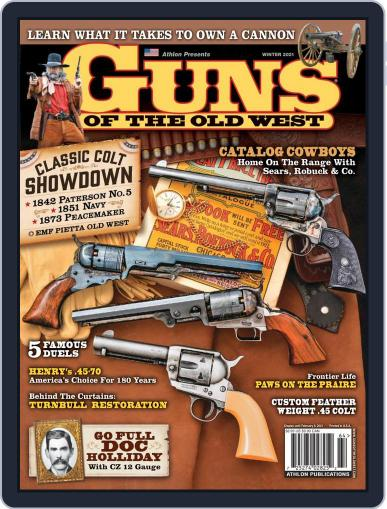 Guns of the Old West (Digital) January 1st, 2021 Issue Cover