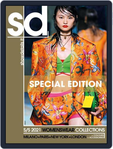 SHOWDETAILS MILANO+NEW YORK (Digital) November 10th, 2020 Issue Cover