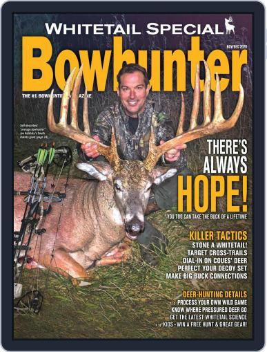 Bowhunter (Digital) November 1st, 2020 Issue Cover