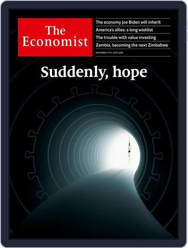 The Economist Continental Europe Edition November 14th, 2020 Digital Back Issue Cover