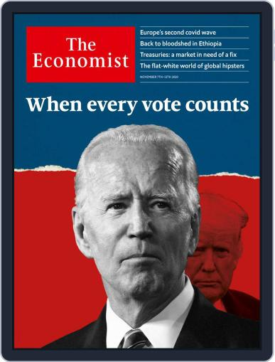 The Economist Continental Europe Edition (Digital) November 7th, 2020 Issue Cover