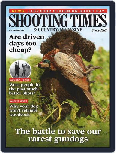 Shooting Times & Country (Digital) November 4th, 2020 Issue Cover