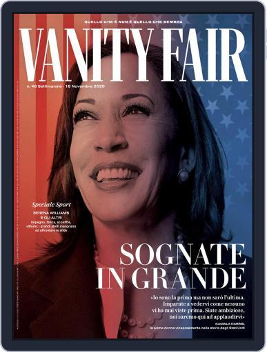 Vanity Fair Italia (Digital) November 12th, 2020 Issue Cover