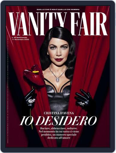 Vanity Fair Italia (Digital) November 11th, 2020 Issue Cover