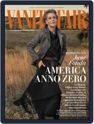 Vanity Fair Italia (Digital) October 28th, 2020 Issue Cover