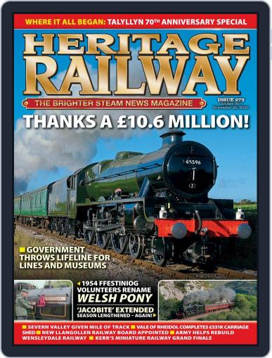 Heritage Railway (Digital) October 30th, 2020 Issue Cover