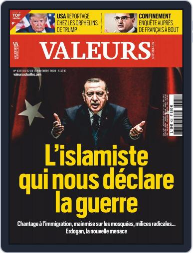 Valeurs Actuelles November 12th, 2020 Digital Back Issue Cover