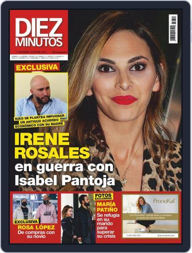 Diez Minutos (Digital) November 11th, 2020 Issue Cover