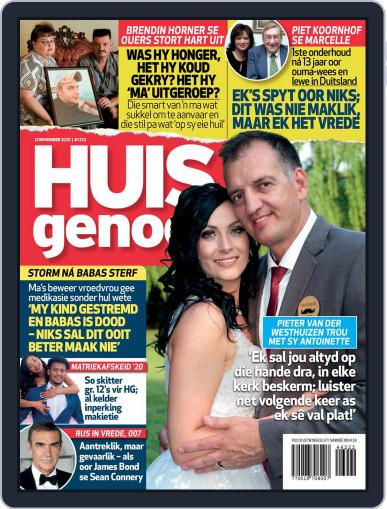Huisgenoot (Digital) November 12th, 2020 Issue Cover
