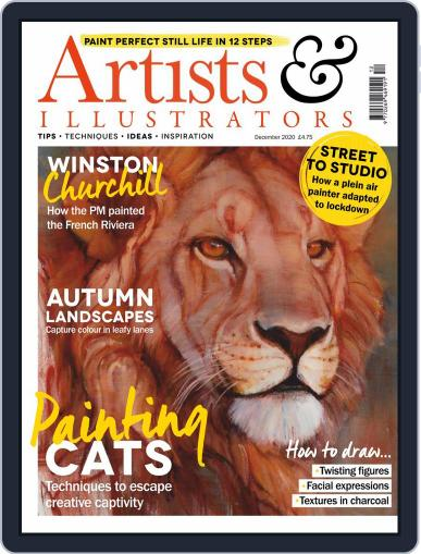Artists & Illustrators (Digital) December 1st, 2020 Issue Cover