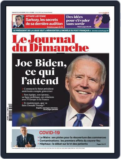Le Journal du dimanche (Digital) November 8th, 2020 Issue Cover