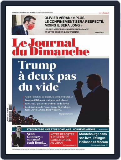 Le Journal du dimanche November 1st, 2020 Digital Back Issue Cover