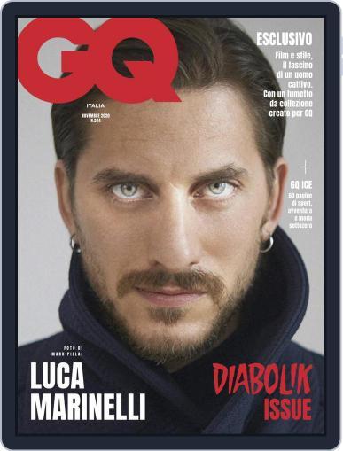 Gq Italia November 1st, 2020 Digital Back Issue Cover