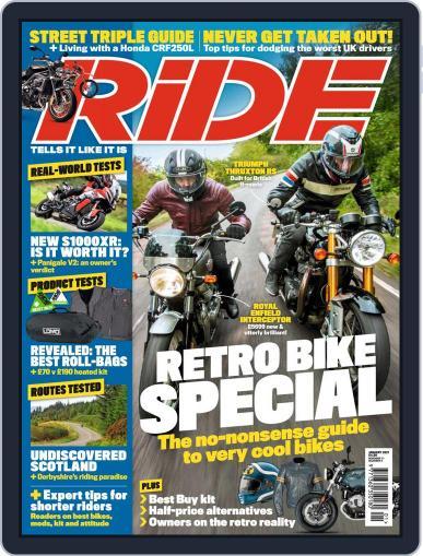 RiDE United Kingdom (Digital) January 1st, 2021 Issue Cover