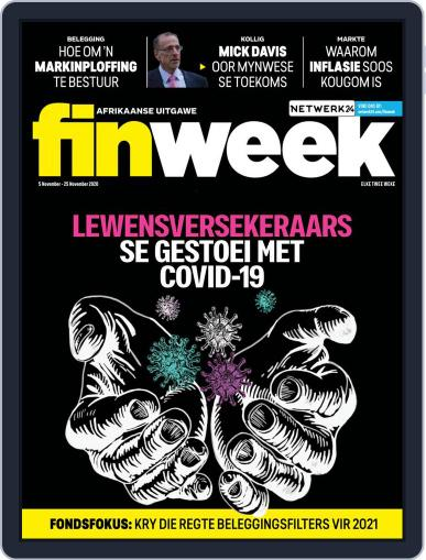 Finweek - Afrikaans (Digital) November 5th, 2020 Issue Cover