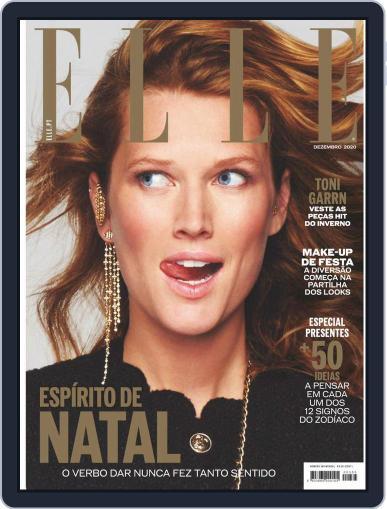 Elle Portugal December 1st, 2020 Digital Back Issue Cover