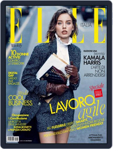 Elle Italia November 14th, 2020 Digital Back Issue Cover