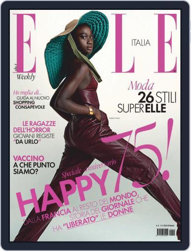 Elle Italia (Digital) November 7th, 2020 Issue Cover