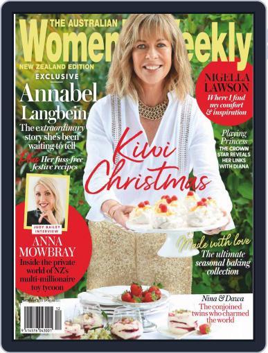 Australian Women's Weekly NZ (Digital) December 1st, 2020 Issue Cover