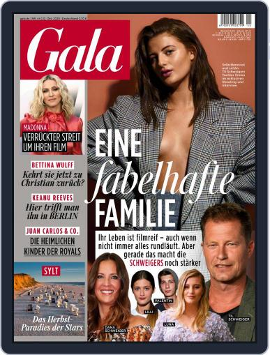 Gala October 22nd, 2020 Digital Back Issue Cover