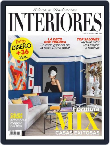Interiores November 1st, 2020 Digital Back Issue Cover