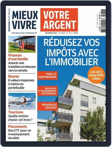 Mieux Vivre Votre Argent (Digital) November 1st, 2020 Issue Cover