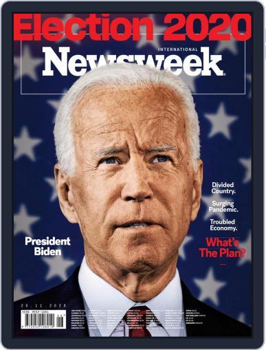 Newsweek International November 20th, 2020 Digital Back Issue Cover