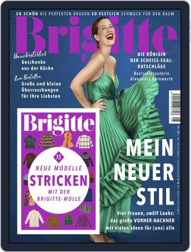 Brigitte (Digital) November 18th, 2020 Issue Cover