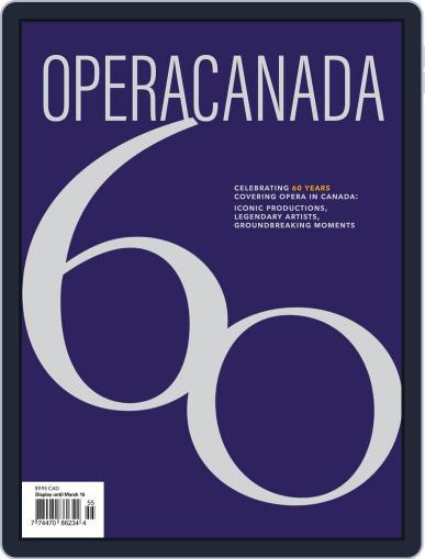 Opera Canada (Digital) October 30th, 2020 Issue Cover