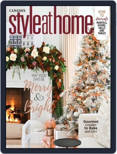 Style At Home Canada (Digital) December 1st, 2020 Issue Cover