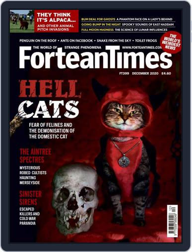 Fortean Times October 29th, 2020 Digital Back Issue Cover