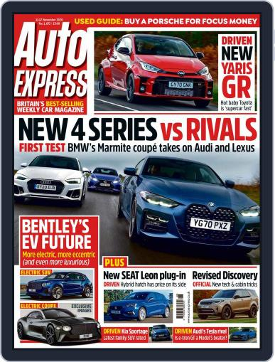 Auto Express (Digital) November 11th, 2020 Issue Cover