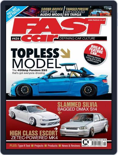 Fast Car (Digital) November 1st, 2020 Issue Cover