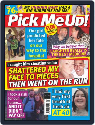 Pick Me Up! (Digital) November 12th, 2020 Issue Cover
