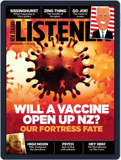 New Zealand Listener November 21st, 2020 Digital Back Issue Cover