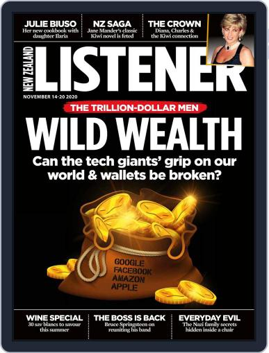 New Zealand Listener (Digital) November 14th, 2020 Issue Cover