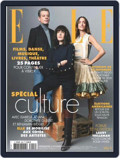 Elle France (Digital) November 13th, 2020 Issue Cover