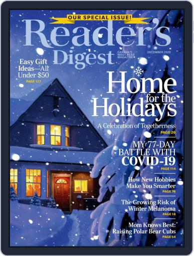 Reader's Digest Canada December 1st, 2020 Digital Back Issue Cover