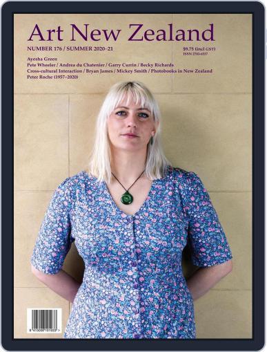 Art New Zealand October 1st, 2020 Digital Back Issue Cover