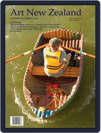 Art New Zealand September 1st, 2020 Digital Back Issue Cover