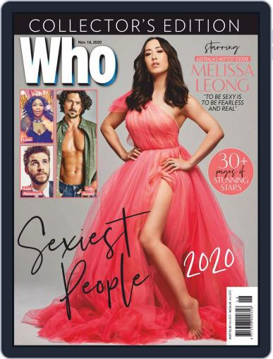 WHO November 16th, 2020 Digital Back Issue Cover