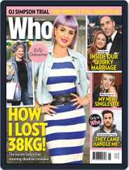 WHO (Digital) Subscription November 9th, 2020 Issue
