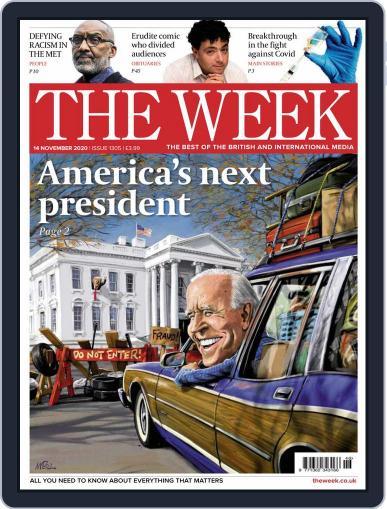 The Week United Kingdom November 14th, 2020 Digital Back Issue Cover