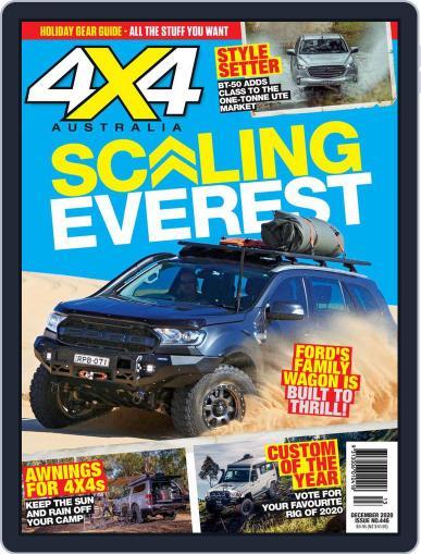 4x4 Magazine Australia December 1st, 2020 Digital Back Issue Cover