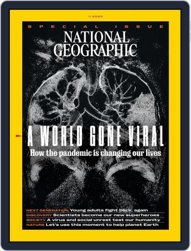National Geographic Magazine - UK (Digital) November 1st, 2020 Issue Cover