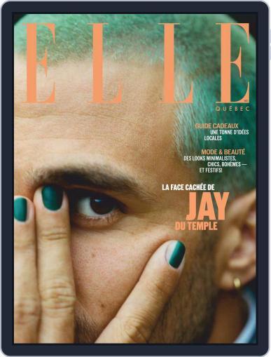 Elle QuÉbec (Digital) December 1st, 2020 Issue Cover