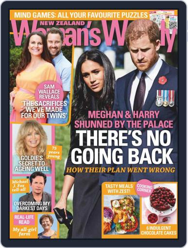 New Zealand Woman's Weekly (Digital) November 23rd, 2020 Issue Cover